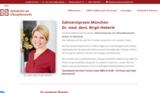 Zahnärztin, Zahnarztpraxis München, Dr. Heberle